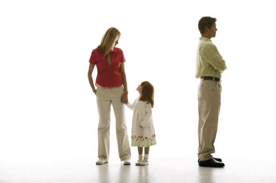 может проблема детей после развода вовсе
